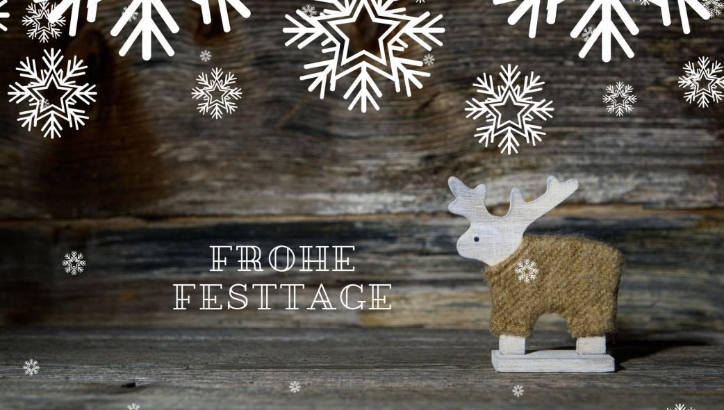 Frohe Festtage 2017