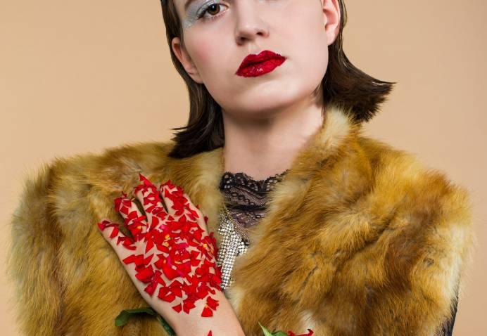 Warrior Queen Aline Queloz Fashion Beauty