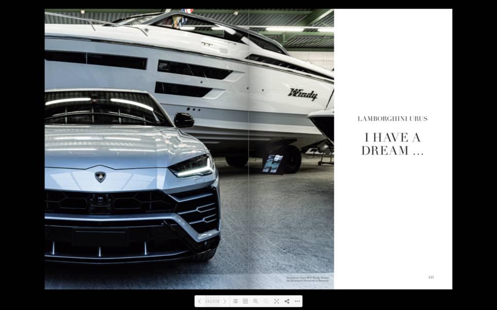 Editorial Lamborghini Urus